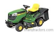 2011 John Deere X155R competitors and comparison tool online specs and performance